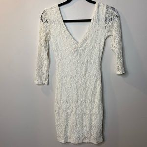 Pins & Needles Womens Small White Bodycon Dress